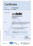 ISO9001:2015 Certificate english
